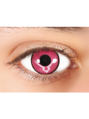 Kawaeyes Pink power 2 tk + läätsekonteiner