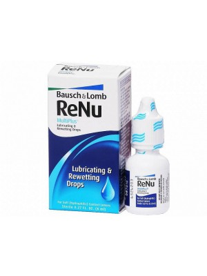 ReNu Multiplus Lubricating & Rewetting Drops 8 ml 469 €/l