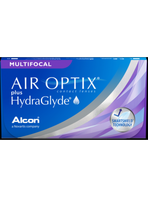 AirOptix plus Hydraglyde Multifocal 3 tk