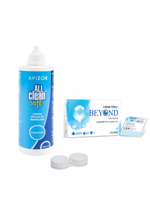 Clearday Beyond 3+3 tk ja All Clean Soft 350 ml koos konteineriga
