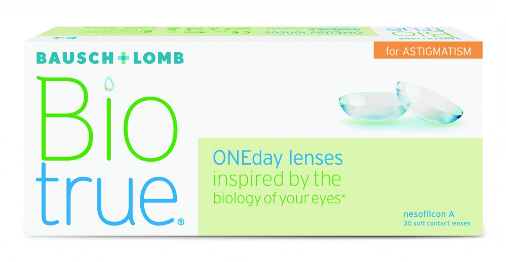 Biotrue® ONEday for Astigmatism 30 tk