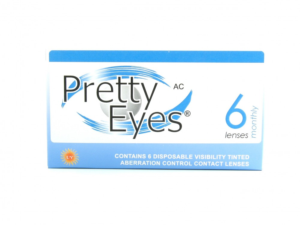 Pretty Eyes AC Monthly Clear 1 tk