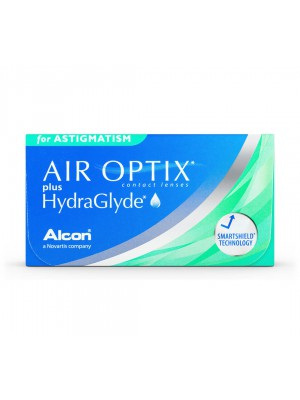 AirOptix plus Hydraglyde for Astigmatism 6 tk