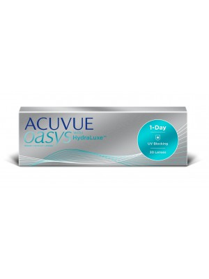 Acuvue Oasys 1-day with HydraLuxe™ 30 tk