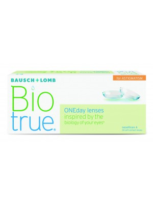 Biotrue® ONEday for Astigmatism 30 tk